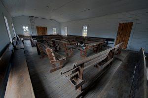 Council Bluff School inside photo by Matt Friel website abandonedarchives