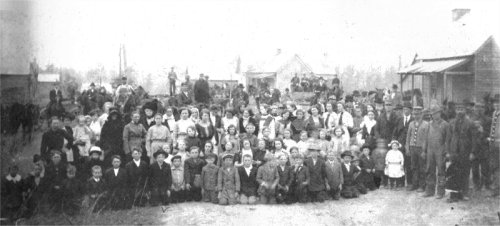 The Rainsville, Alabama community in 1912