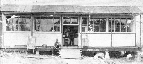W.V. Graves, Sr.'s first store at Fyffe as it appeared in 1905.