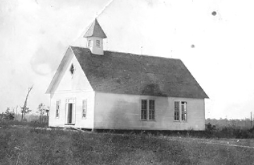 The Parker School in Rainsville circa 1912.